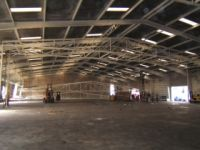 Cold storage warehouse - steel construction